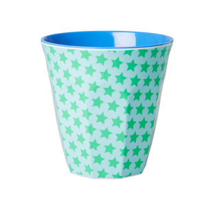 Melamine Cup with Star Print