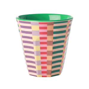 Melamine Cup with Summer Stripes