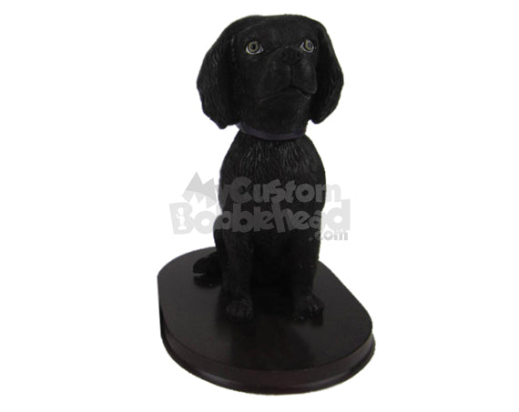 Custom Bobblehead Sitting Small Dog Pet - Pets & Animals Dogs Personalized Bobblehead & Cake Topper