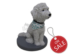 Custom Bobblehead Old English Pet Dog - Pets & Animals Dogs Personalized Bobblehead & Cake Topper