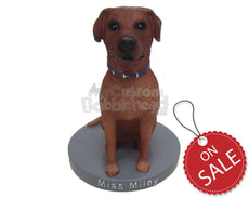 Custom Bobblehead Pet Labrador Golden Retriever Dog - Pets & Animals Dogs Personalized Bobblehead & Cake Topper
