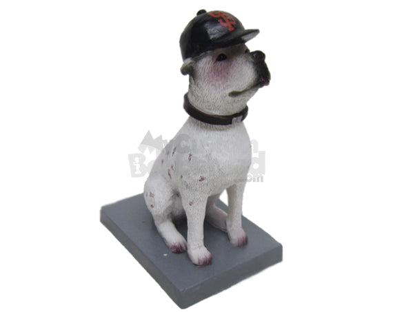Custom Bobblehead Adorable Pet Dog Ready To Be Trained - Pets & Animals Dogs Personalized Bobblehead & Cake Topper