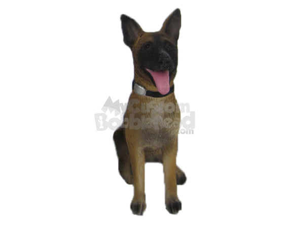 Custom Bobblehead German Shepherd Dog - Pets & Animals Dogs Personalized Bobblehead & Cake Topper