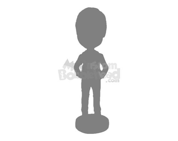 Single Fully Customized Bobblehead - Personalized Bobblehead & Cake Topper