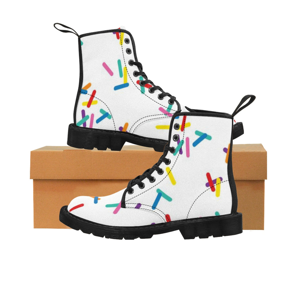 Women's Vanilla with Sprinkles Martin Boots