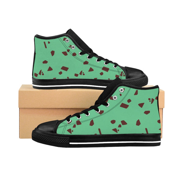 Men's Mint Chip High-top Sneakers