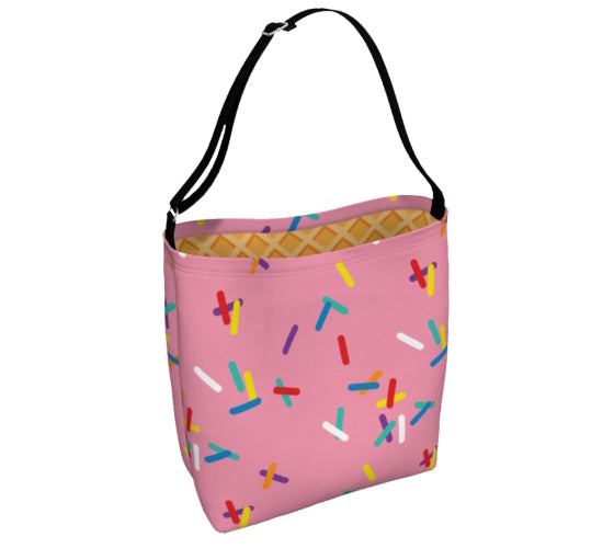 Strawberry with Sprinkles Day Tote