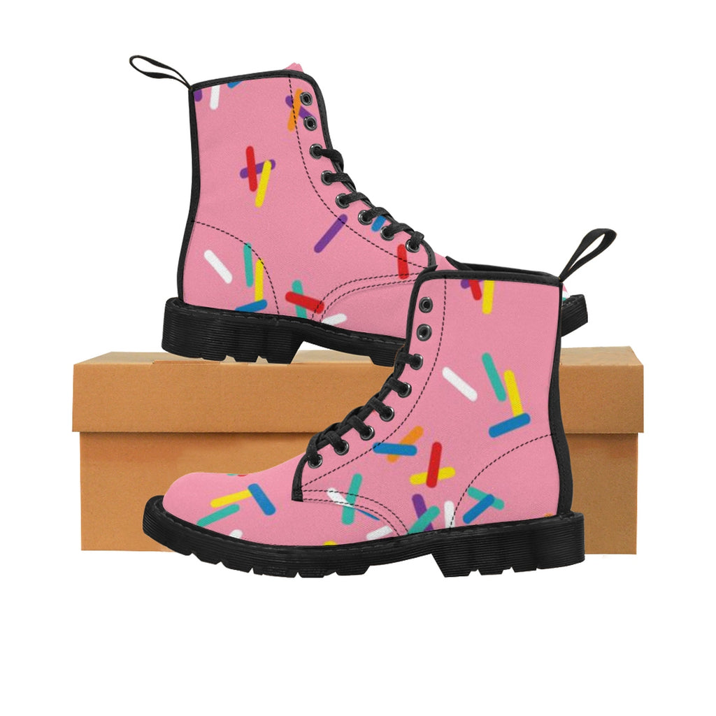 Women's Strawberry with Sprinkles Martin Boots