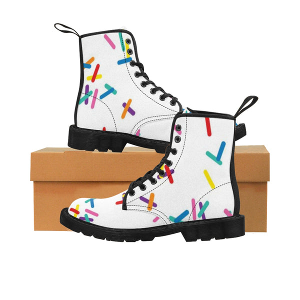 Men's Vanilla with Sprinkles Martin Boots