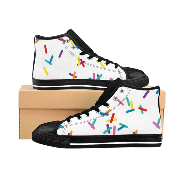 Women's Vanilla with Sprinkles High-top Sneakers