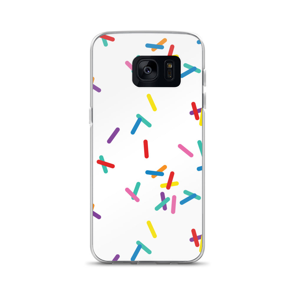 Vanilla with Sprinkles Samsung Cases