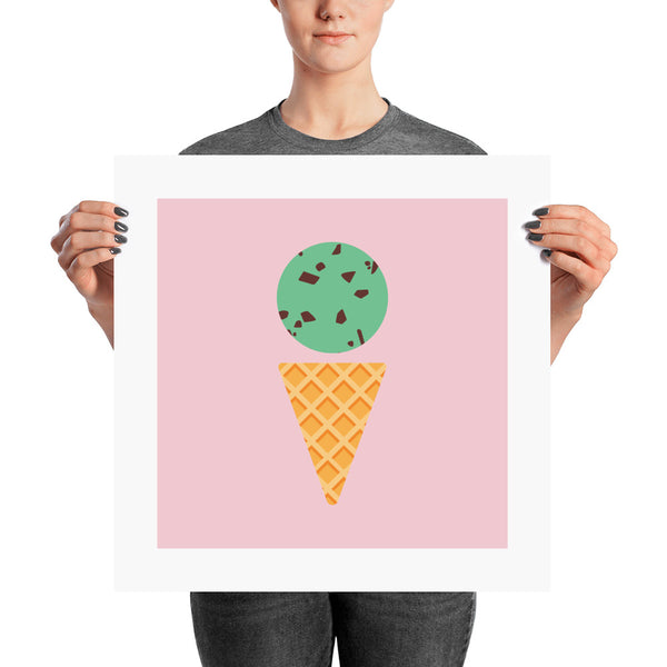 Mint Chip Posters