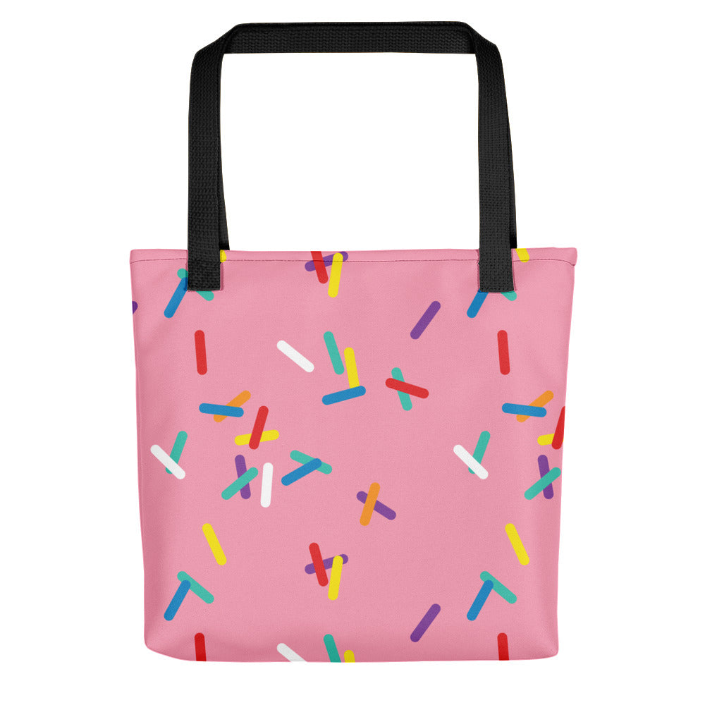 Strawberry with Sprinkles Tote bag