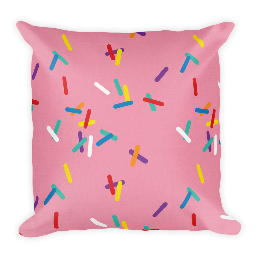 Strawberry with Sprinkles Premium Pillows
