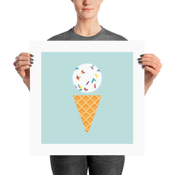 Vanilla with Sprinkles Posters