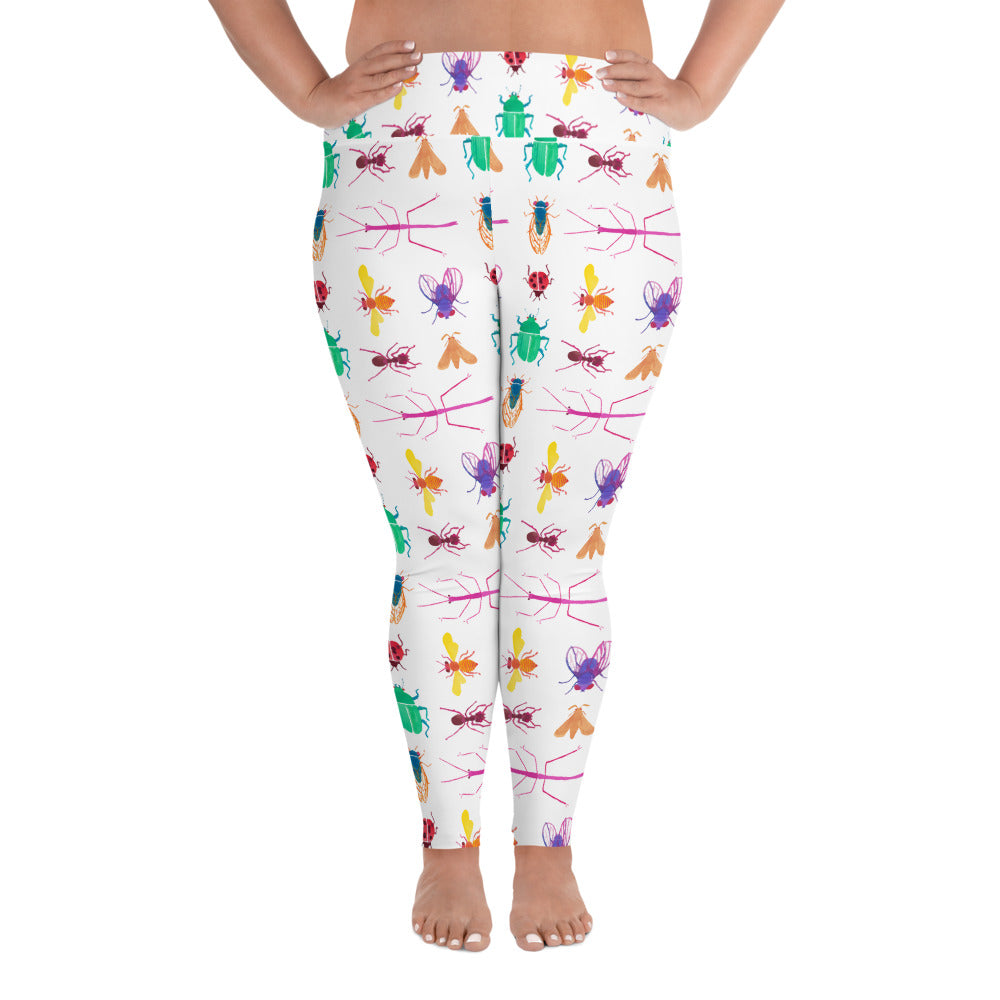 Sugar Bugs Plus Size Leggings