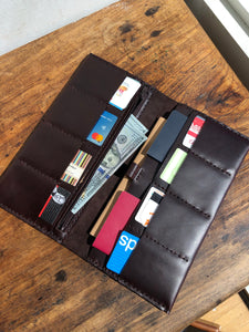 Large Travel Wallet / Family Passport Holder / Boarding Pass Organizer
