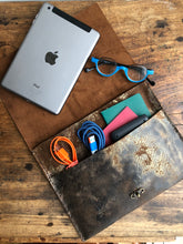 iPad Case / Leather iPad pocket Case / Tablet Cover / Made in NY