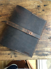8.5 x 11 Binder Folio / Leather Binder Organizer