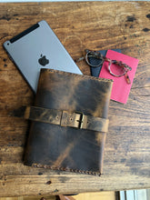 Mini Folio / A5 iPad Mini Padfolio / A5 Notepad Holder / Travel iPad Case