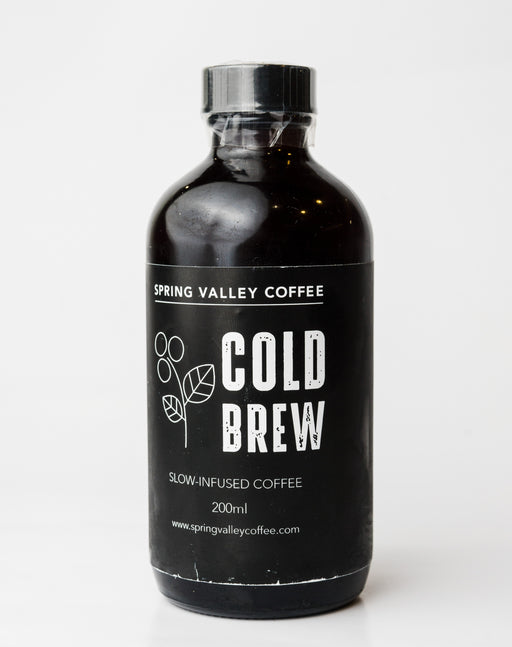 Spring Valley Cold Brew - Slow infused coffee 200ml