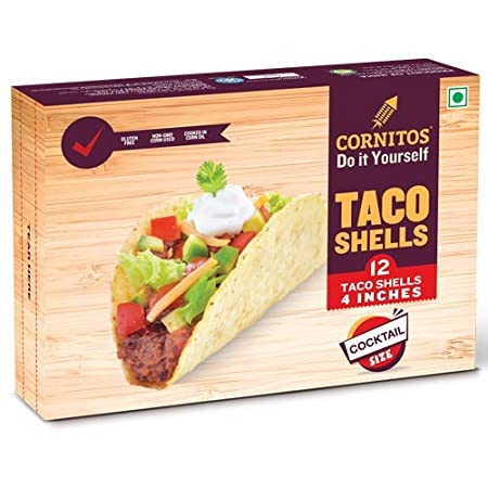 Cornitos Cocktail Size Taco Shells - 12 Taco Shells 4 Inches.