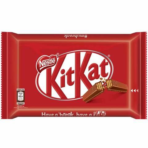 Nestle Kitkat 4 finger Milk Chocolate Bar 41.5g