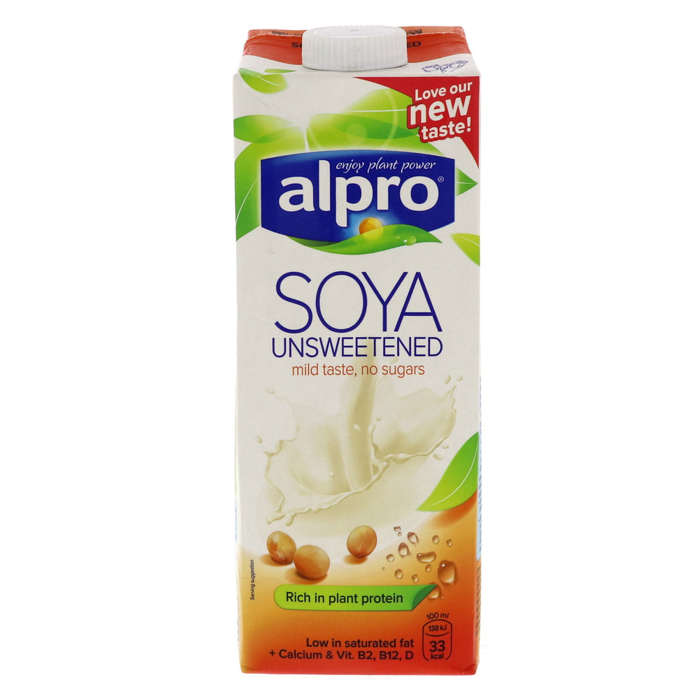 Alpro Soya - Unsweetened Mild Taste with no Sugar