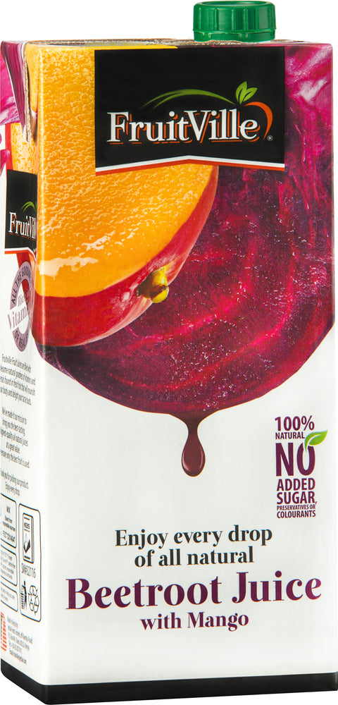 FruitVille Beetroot with Mango Juice 1 Ltr