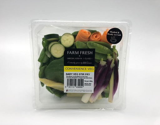 Farm Fresh Baby Vegetable Stir Fry 250g