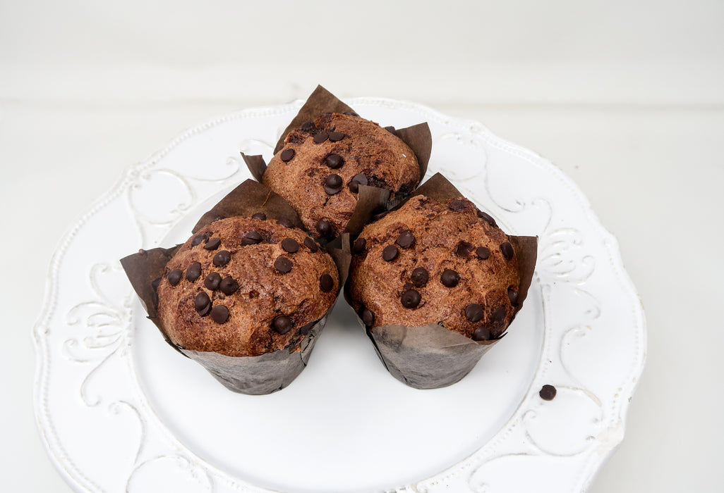 Chocolate Chip Muffins - Zucchini Greengrocers LTD