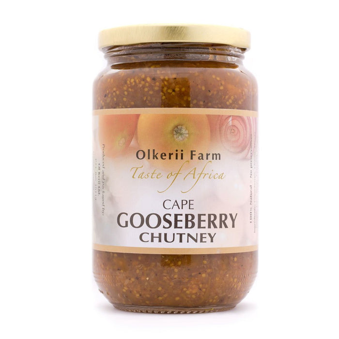 Olkerii Farm Cape Gooseberry Chutney 380g
