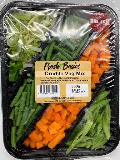 Fresh Basics - Crudite Veg Mix 300g