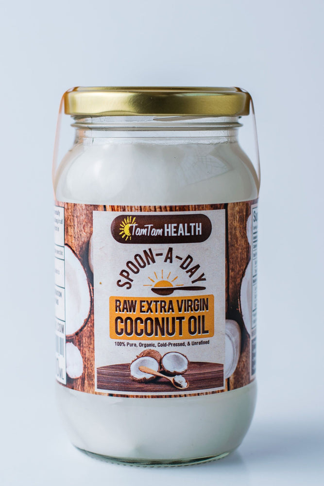 SPOON A DAY - RAW EXTRA VIRGIN COCONUT OIL 400ML - Zucchini Greengrocers LTD