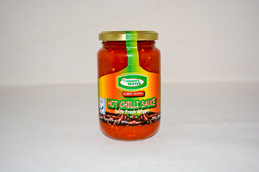 Nature`s Taste Hot Chilli Sauce With Ginger