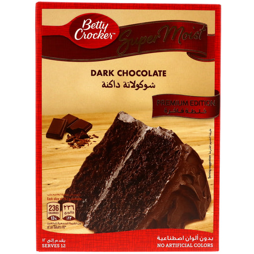 Betty Crocker Dark Chocolate Cake 510g