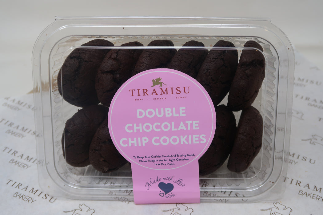 Double Chocolate Chip Cookies - Zucchini Greengrocers LTD