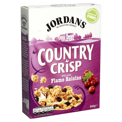 Jordans Country Crisp with Raisins Cereal 500g