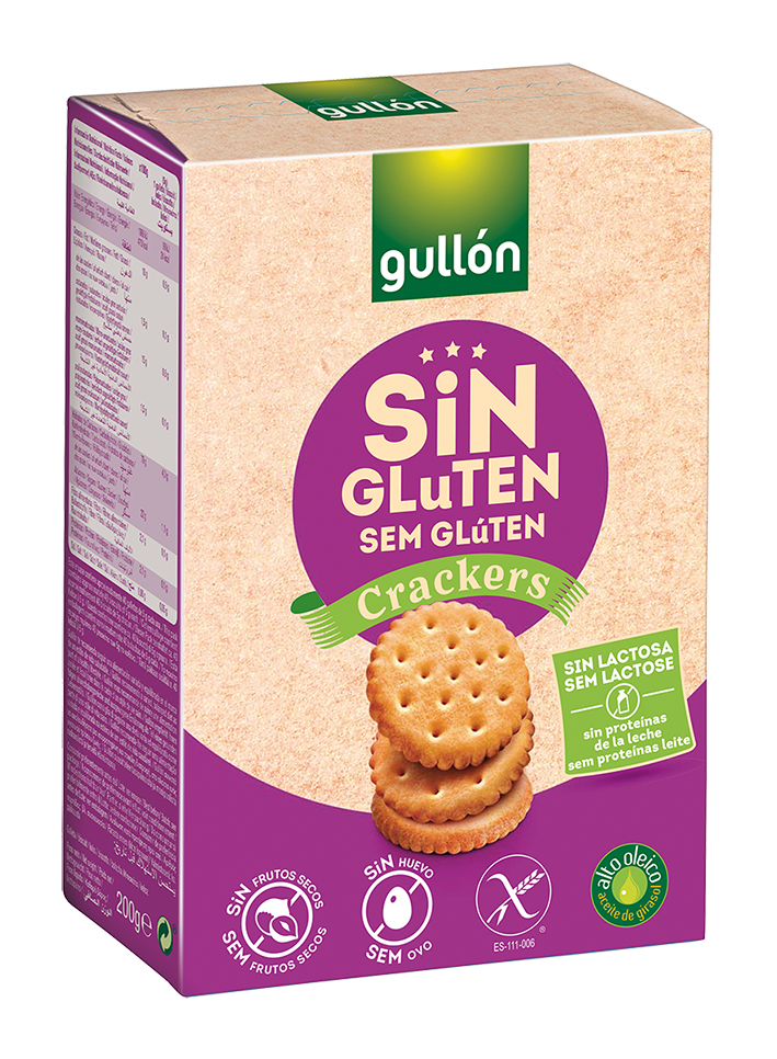 Gullon Cracker Gluten Free 200g.