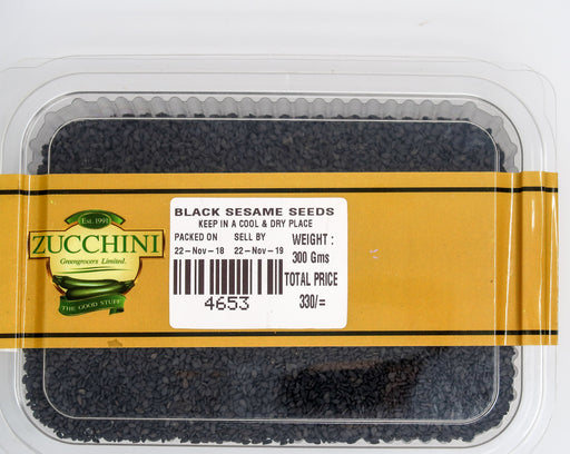 Black Sesame Seeds - Zucchini Greengrocers LTD