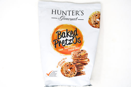 Hunter's Gourmet Baked Pretzos- White and Black Sesame - Zucchini Greengrocers LTD