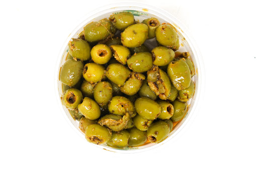 Madri's Olives Lemon & Garlic - Zucchini Greengrocers LTD
