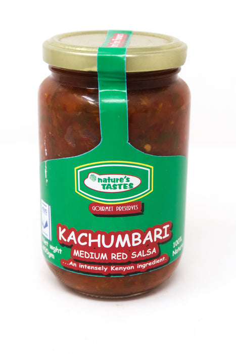 Nature's Taste Kachumbari Medium Red Salsa