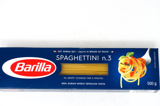 Barilla Spaghettini No.3 - Zucchini Greengrocers LTD