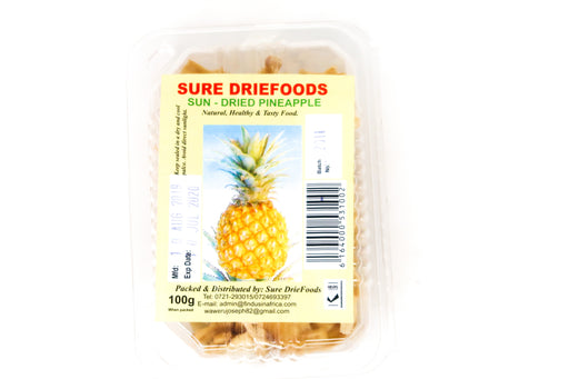 Sure Driefoods- Sun Dried Pineapples