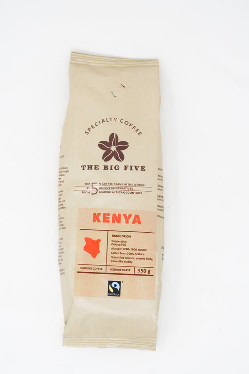 The Big Five -  Kenya Coffee - Zucchini Greengrocers LTD