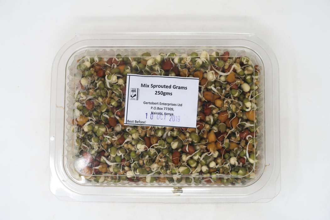Mix Sprouted Grams - Zucchini Greengrocers LTD