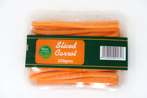 Zucchini - Sliced Carrots