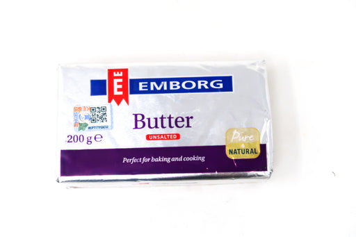Emborg Unsalted Butter - Zucchini Greengrocers LTD