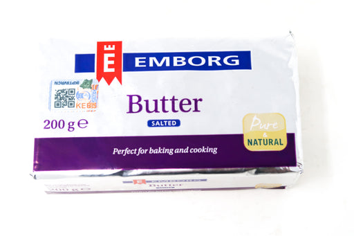 Emborg salted Butter - Zucchini Greengrocers LTD